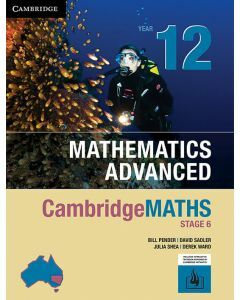 CambridgeMATHS Mathematics Advanced Year 12 (print and interactive textbook)