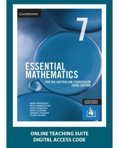 [Pre-order] Essential Mathematics Australian Curriculum Year 7 3e Online Teaching Suite Code [Due Sep 2019]