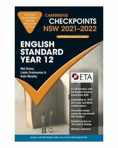 [Pre-order] Cambridge Checkpoints NSW English Standard Year 12 2021-2022 [Due Sep 2020]