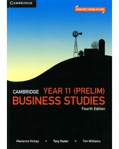 Cambridge Business Studies Year 11 4e (Print & Digital)