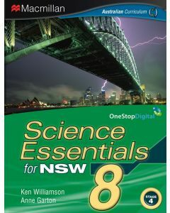 Science Essentials 8 NSW Edition: Print & Digital (Available to Order)