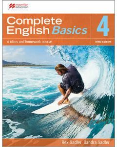 Complete English Basics 4: 3rd ed Student Book + Online Workbook