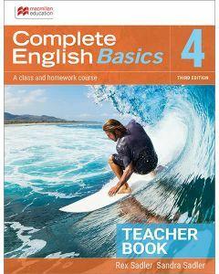 Complete English Basics 4: 3rd ed Teacher Resource Book