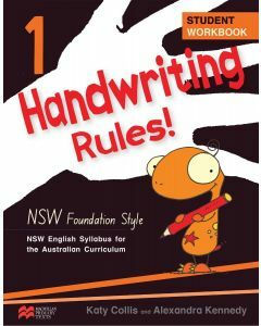 Handwriting Rules! NSW Foundation Style 1