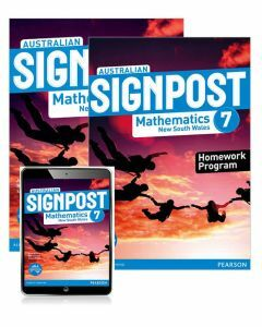 Australian Signpost Mathematics NSW 7 Student Book, eBook and Homework Program