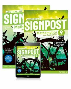 Australian Signpost Mathematics NSW 9 (5.1-5.2) Student Book, eBook and Homework Program