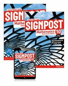 Australian Signpost Mathematics NSW 10 (5.1-5.2) Student Book, eBook and Homework Program