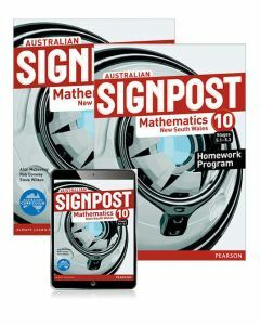Australian Signpost Mathematics NSW 10 (5.1-5.3) Student Book, eBook and Homework Program