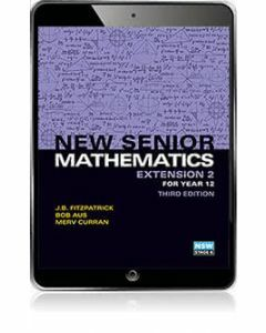 New Senior Mathematics Extension 2 eBook Access Code (3e)