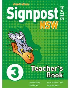 Australian Signpost Maths NSW 3 Teacher's Book 2ed
