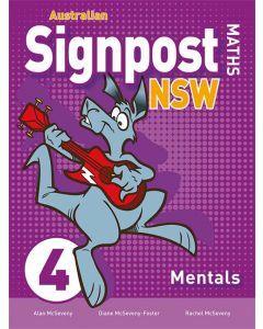 Australian Signpost Maths NSW 4 Mentals 2ed
