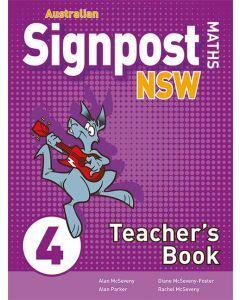 Australian Signpost Maths NSW 4 Teacher's Book 2ed