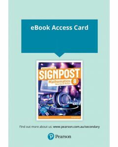 Australian Signpost Mathematics NSW 8 eBook (Access Code)