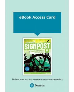 Australian Signpost Mathematics NSW 9 (5.2) eBook (Access Code)