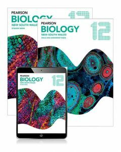 Pearson Biology 12 NSW Student Book, eBook and Skills & Assessment Book