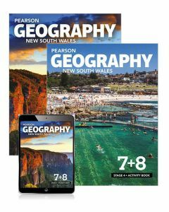 Pearson Geography NSW Stage 4 Student Book, eBook and Activity Book