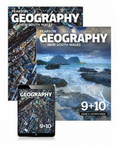 Pearson Geography NSW Stage 5 Student Book, eBook and Activity Book