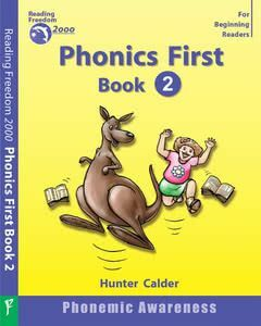 Phonics First Level Book 2: Phonemic Awareness Ages 4+