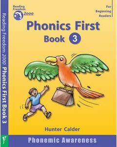 Phonics First Level Book 3: Single Letter Sounds