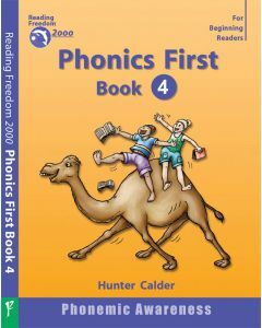 Phonics First Level Book 4: Beginning & Ending Blends Ages 4+