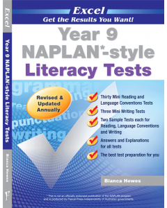 Excel NAPLAN*-style Literacy Tests Year 9 [Temporarily out of stock]