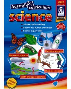Australian Curriculum Science Year 2 (Ages 7 to 8)