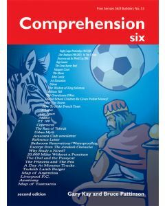 Comprehension Six 2nd Edition