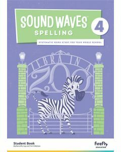 [Pre-order] Sound Waves Spelling 4 Student Book [Due Jun 2021]