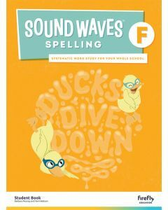 [Pre-order] Sound Waves Spelling F Student Book [Due Jun 2021]