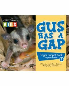 Finger Puppet Story Book: Gus Has A Gap