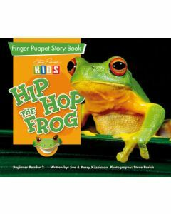 Finger Puppet Story Book: Hip Hop the Frog