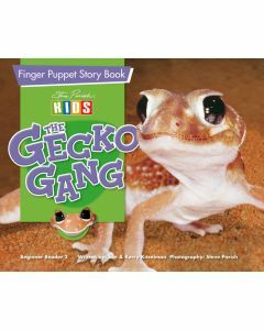 Finger Puppet Story Book: The Gecko Gang