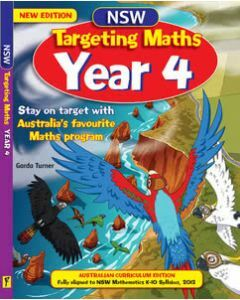NSW Targeting Maths Year 4 Student Book Australian Curriculum Edition