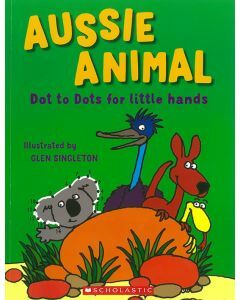 Aussie Animal Dot To Dots for little hands