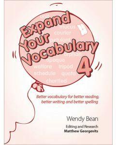 Expand Your Vocabulary 4