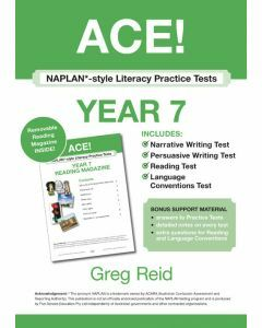 ACE! NAPLAN*-style Literacy Practice Tests Year 7 with Year 7 Reading Magazine