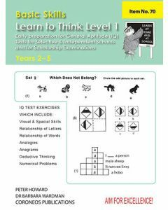 Learn to Think Level 1 Yrs 2 to 5 (Basic Skills No. 70)
