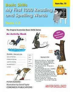 My First Reading 1000 Reading/Spelling Words Yrs 1 to 3  (Basic Skills No. 75)