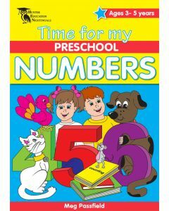 Time for my Preschool Numbers (Ages 3-5)