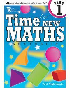Time for New Maths Australia 1