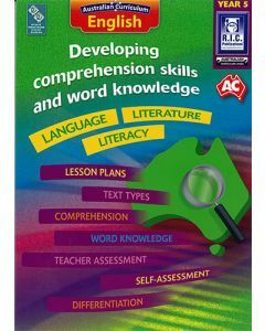 Developing comprehension skills and word knowledge Year 5