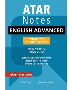 ATAR Notes: HSC Year 12 English Advanced Notes