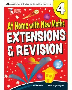 At Home with New Maths: Extension & Revision 4