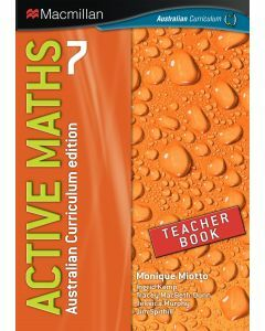 Active Maths 7 Australian Curriculum Edition Teacher Book  (Available to Order)
