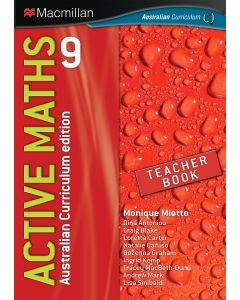 Active Maths 9 Australian Curriculum Edition Teacher Book  (Available to Order)