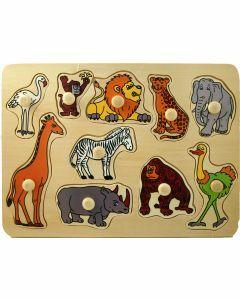 Animals Wooden Puzzle