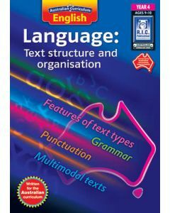 Australian Curriculum English Language: Text Structure and Organisation Year 4