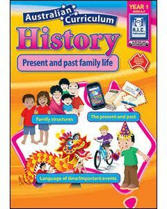 Australian Curriculum History Year 1 (Ages 6 to 7)