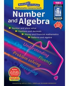 Australian Curriculum Mathematics Resource Book: Number and Algebra Year 4
