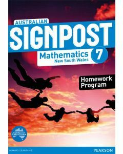 Australian Signpost Maths NSW 7 Homework Program